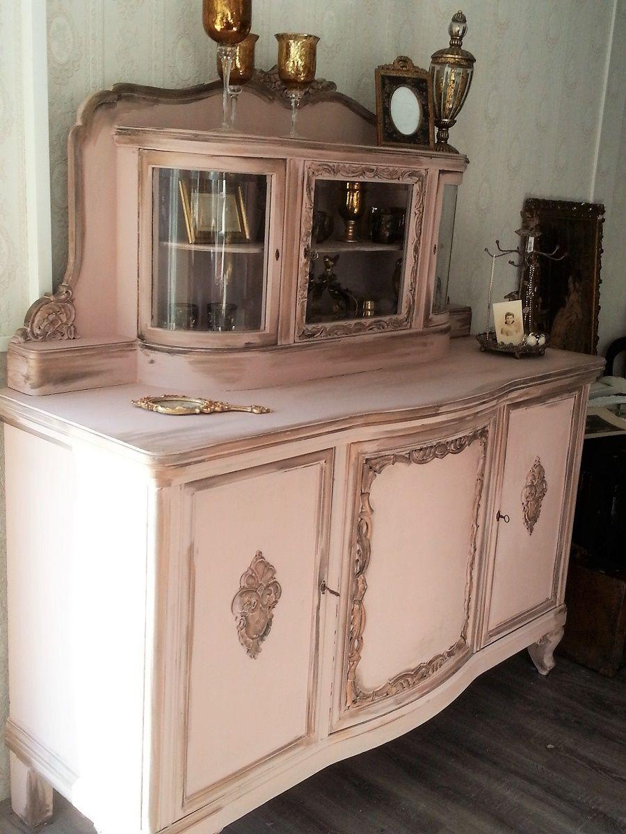 Rosalinde Ein Madchen Traum In Altrosa Rose Habby Chic Server Vintage Wings Mobel Furniture Used Smoked Kr Alte Mobel Streichen Rosa Mobel Moebel Streichen