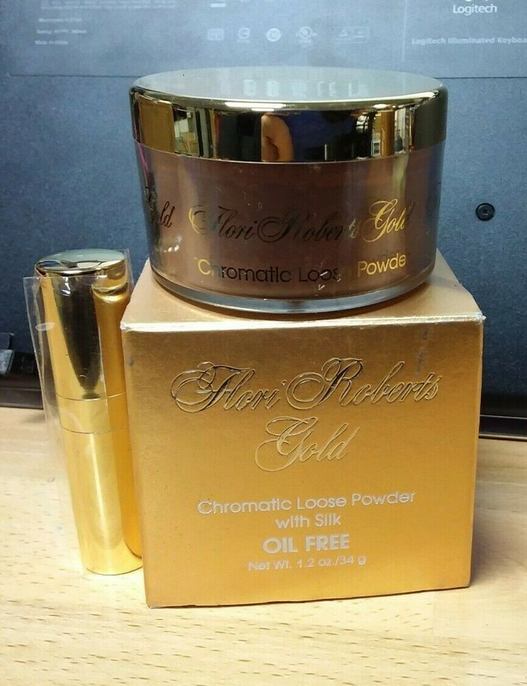 Flori Roberts Gold Chromatic Loose Powder Translucent Dark