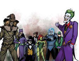 Joker and Friends by JoelGomez