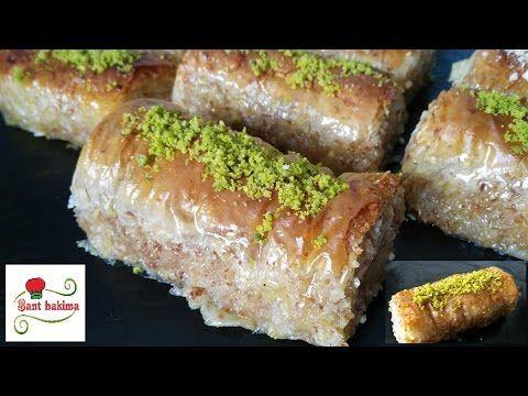 أطيب و أسهل بقلاوة تركية مبرومة بدون عود البرم بتقنية جديدة و غير مكلفة Youtube Turkish Recipes Dessert Recipes Food