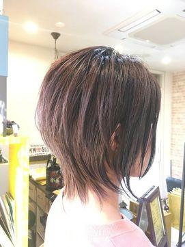 京都 山科 ルーナヘアー 奥行きレイヤーボブ 草木真一郎 Luna Hair