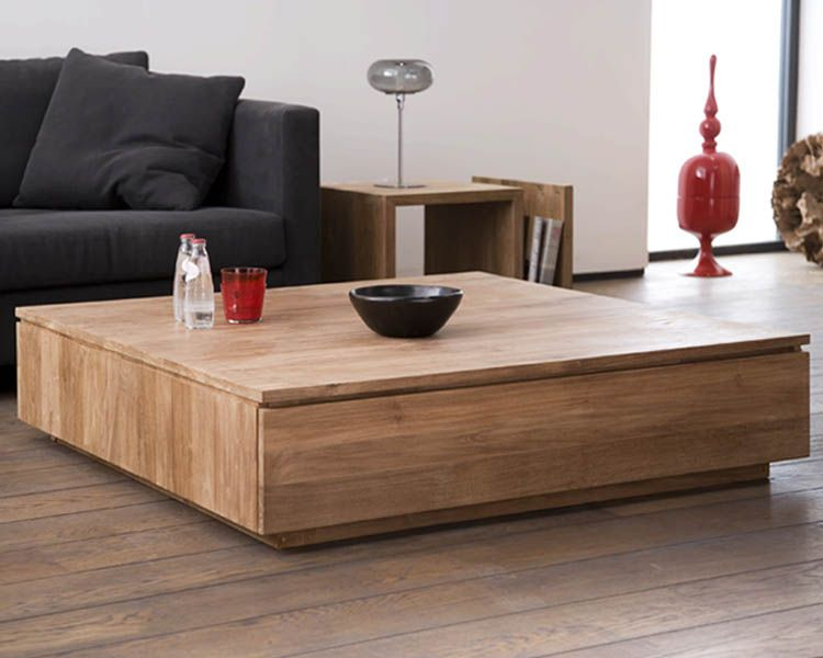 Ethnicraft© - Products » Occasional Tables »Teak Groove ...