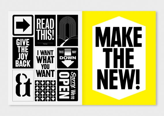 Creative Review - I Like It: What Is It? by Anthony Burrill