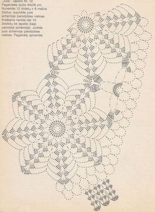 Gallery.ru / Фото #69 - 5 - nezabud-ka | patrones crochet ...