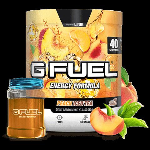 Peach Iced Tea Tub Free Battle Jar Bundle Peach Ice Tea Energy Drink Powder Iced Tea