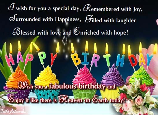 Make A Wish And Enjoy Your Birthday Happy Birthday To You Birthday Birthday Greetings