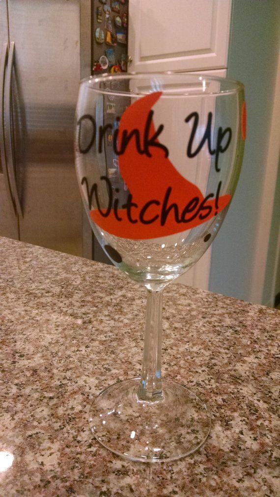 Custom Witch Drink Up WitchesHalloween by PersonalizedJewellz