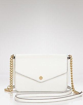 MICHAEL Michael Kors Shoulder Bag - Small Flap Leather   Bloomingdale's