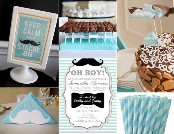 mustache baby shower ideas Baby shower Pinterest Showers