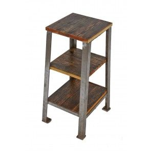 1940u0027s American Industrial Chicago Factory Grinder Stand Comprised Of  Angled Steel. Nest FurnitureMetal ...