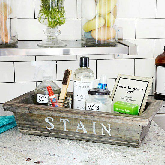 Stain kit for your laundry room from BHG