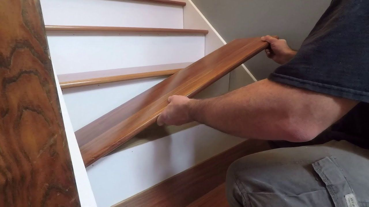 Best How To Install Prefinished Retrofit Stair Treads From 400 x 300
