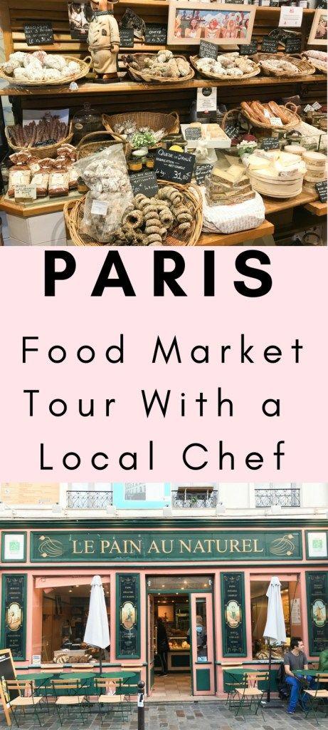 Paris Food Market Tour With Local Chef