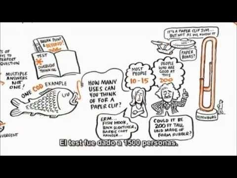 Creatividad Y Pensamiento Divergente Cambiando Los Paradigmas Ken Robinson Creatividad Pensar Fuera De La Caja Pensamientos