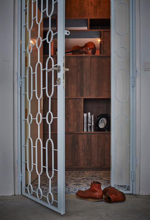 3d Sengkang2 Door Gate Design Room Renovation Industrial Style Decor
