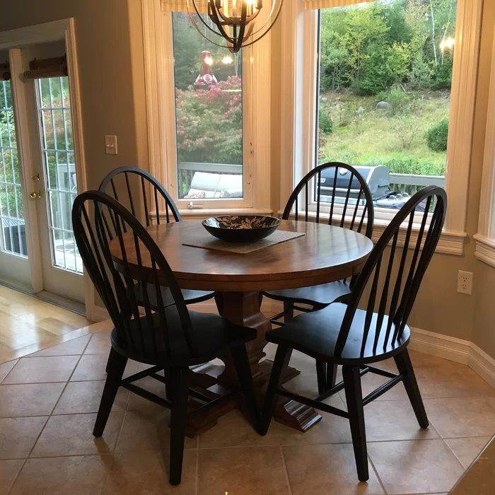 Warkentin Dining Chair Dining chairs, Solid wood dining