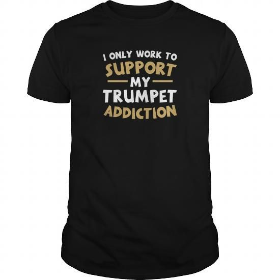 Supporting My Trumpet Addiction