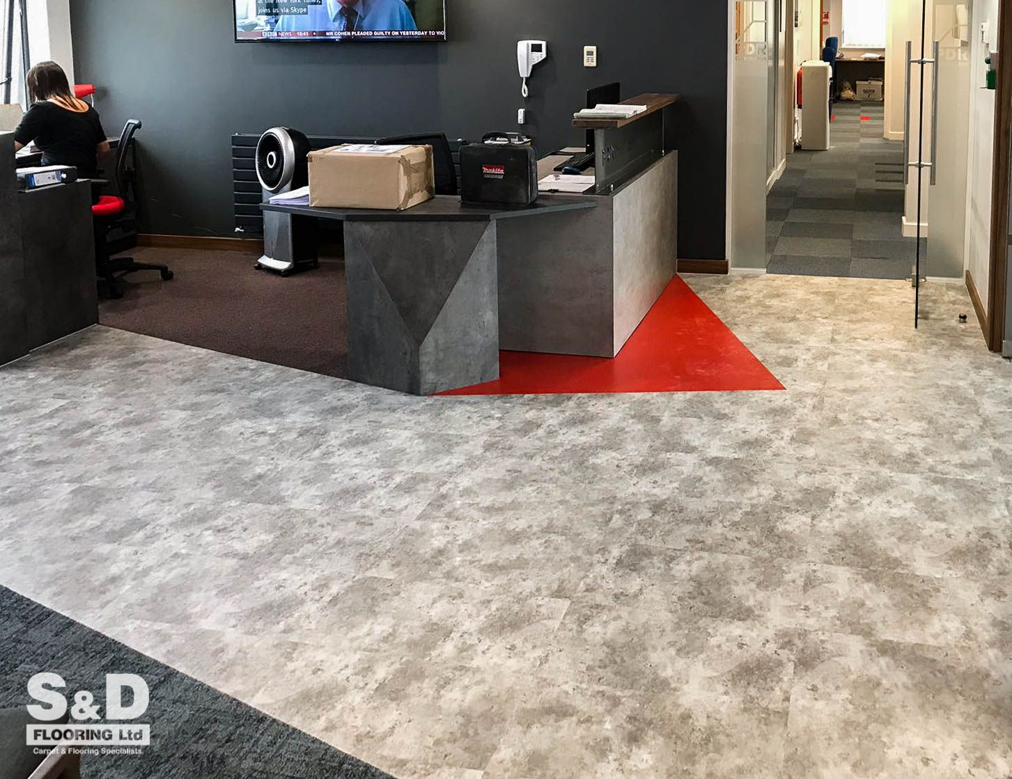 to the new reception of PDR Construction! Complete