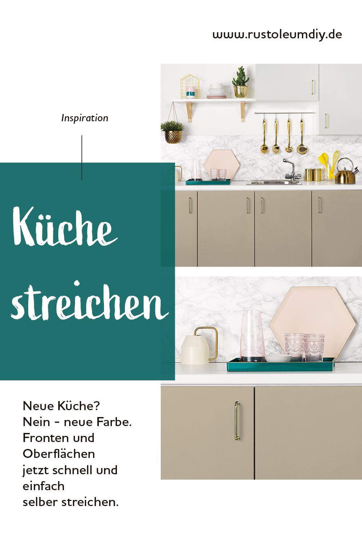 Neue Küche Nein Neue Farbe Küchen Streichen Küche Neu Gestalten Renovieren Küche Gestalten