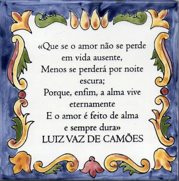 Luiz Vaz De Camões Frases Em Portugues Provérbios