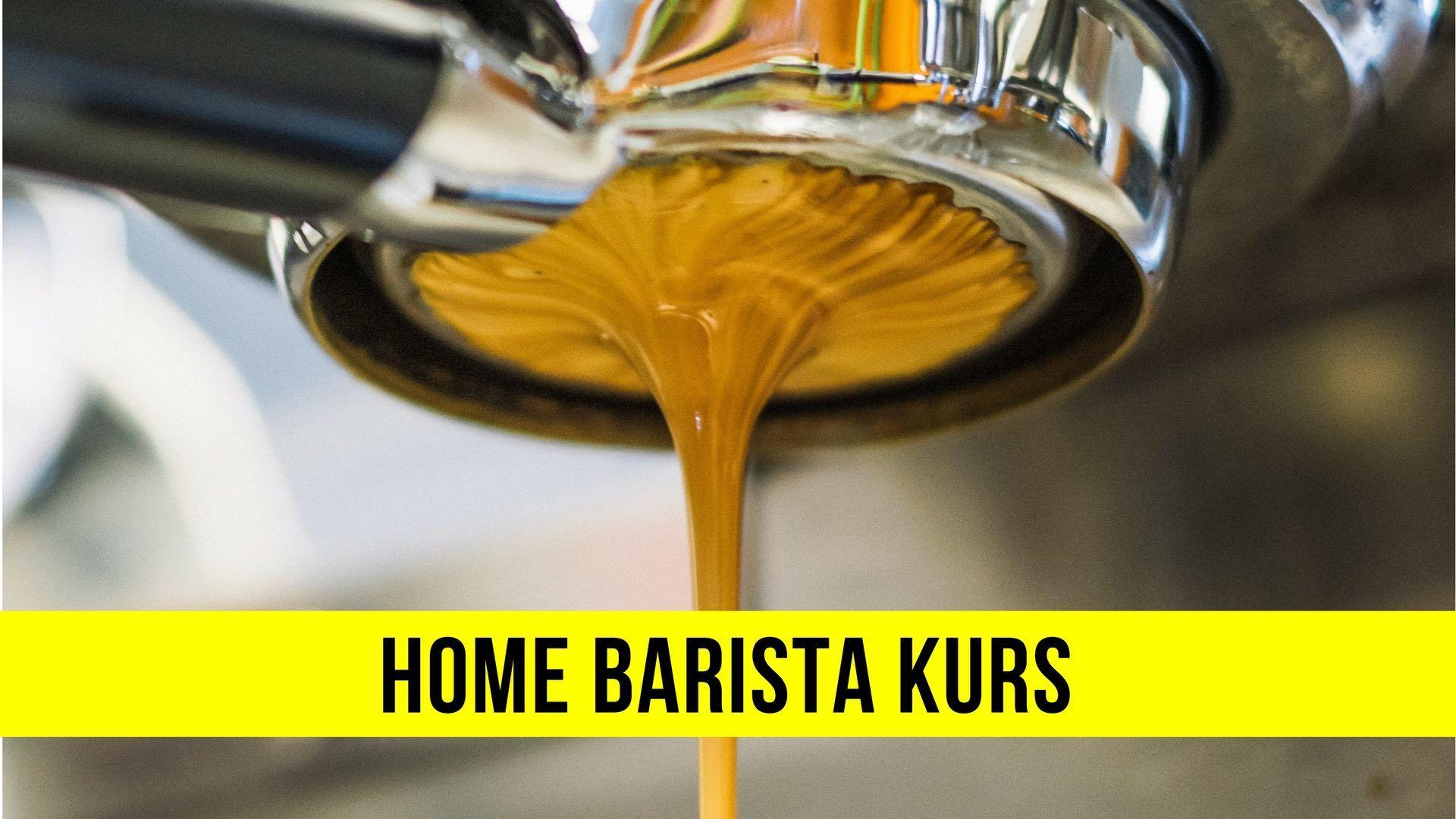 Home Barista Kurs, für alle die Zuhause richtig guten ...