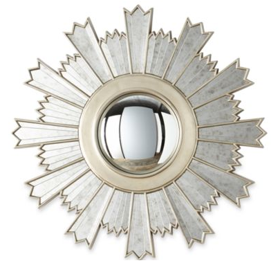"""Dina from Honey and Fitz blog mentions the MarthaMirrors™ Nova Starburst Round Wall Mirror in her """"Things You Should Know About: Vol 8"""" post. Available @JCPenney."""