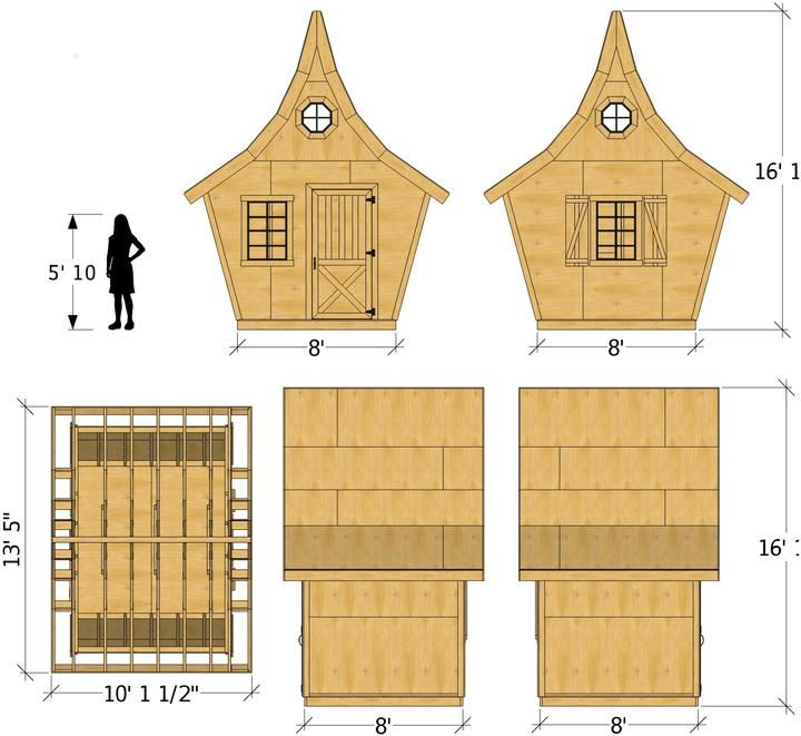 Rosemary Shed Plan
