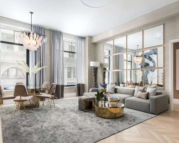 Completely Gut Renovated And With The Highest Ceilings 11 5 In The Building Residence 2d At 1 Elegant Home Decor Affordable Interior Design Apartment Decor