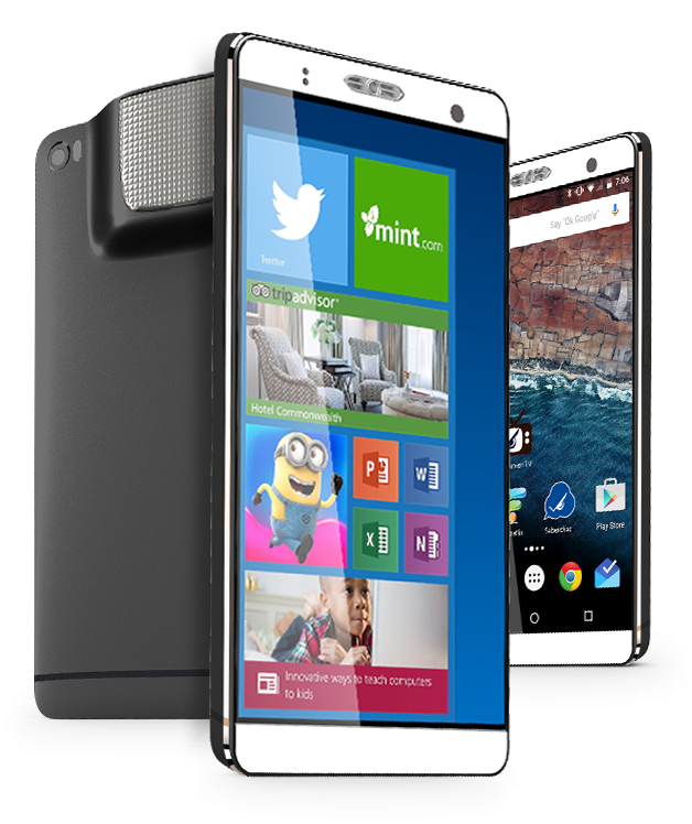 See The New SmartPhone That Comes With Android, Window PC