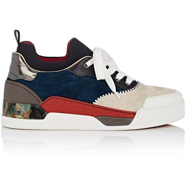 e7ed4c96dafc ... promo code for christian louboutin mens aurelien flat sneakers 1195  liked on polyvore featuring mens fashion