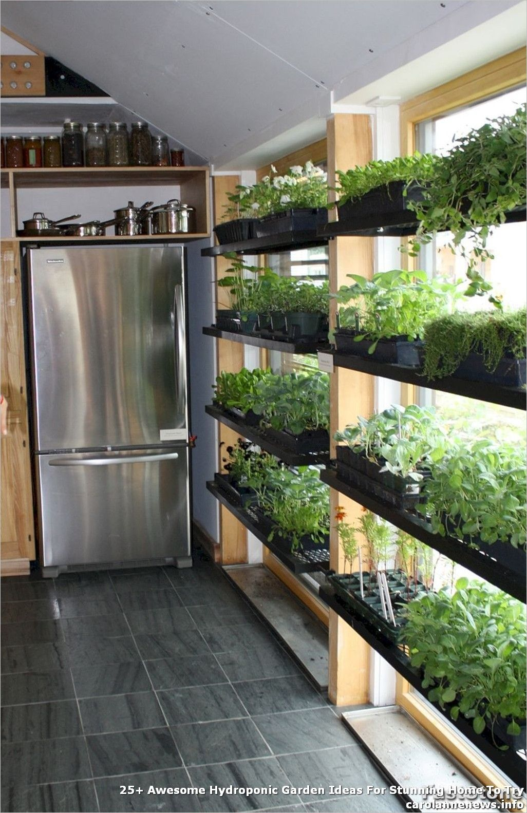 9+ #Awesome #Hydroponic #Garden #Ideas #For #Stunning #Home #To