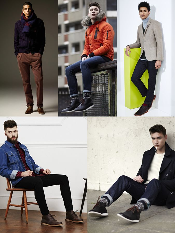 Men s Leather Chukka Boot Outfit Inspiration Lookbook  f8eecf721