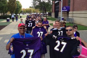 3d6482abb Thousands line up for Ray Rice jersey exchange