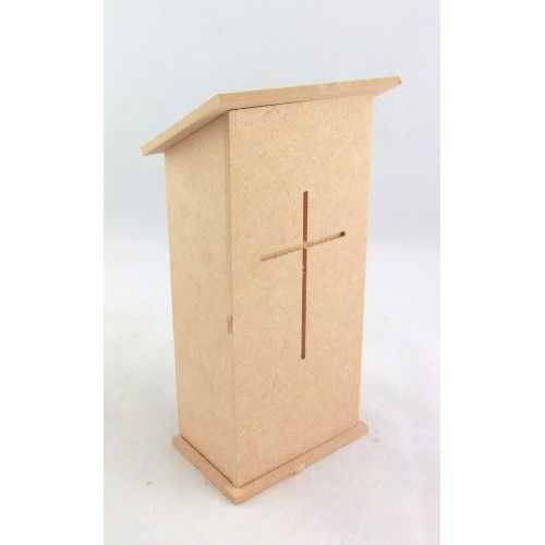 unfinished dollhouse furniture. Dolls House Miniature 1:12 Scale Furniture Kit Church Pulpit Chapel Lectern. Unfinished Dollhouse