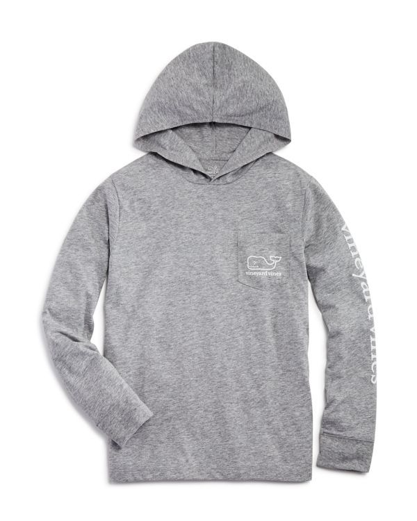 Vineyard Vines Boys' Heathered T-Shirt Hoodie - Sizes S-xl