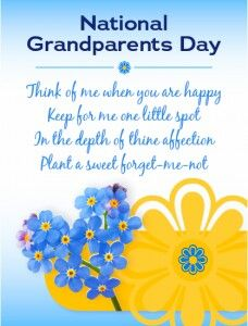 National Grandparents Day Grandparents Day Grandparents Day
