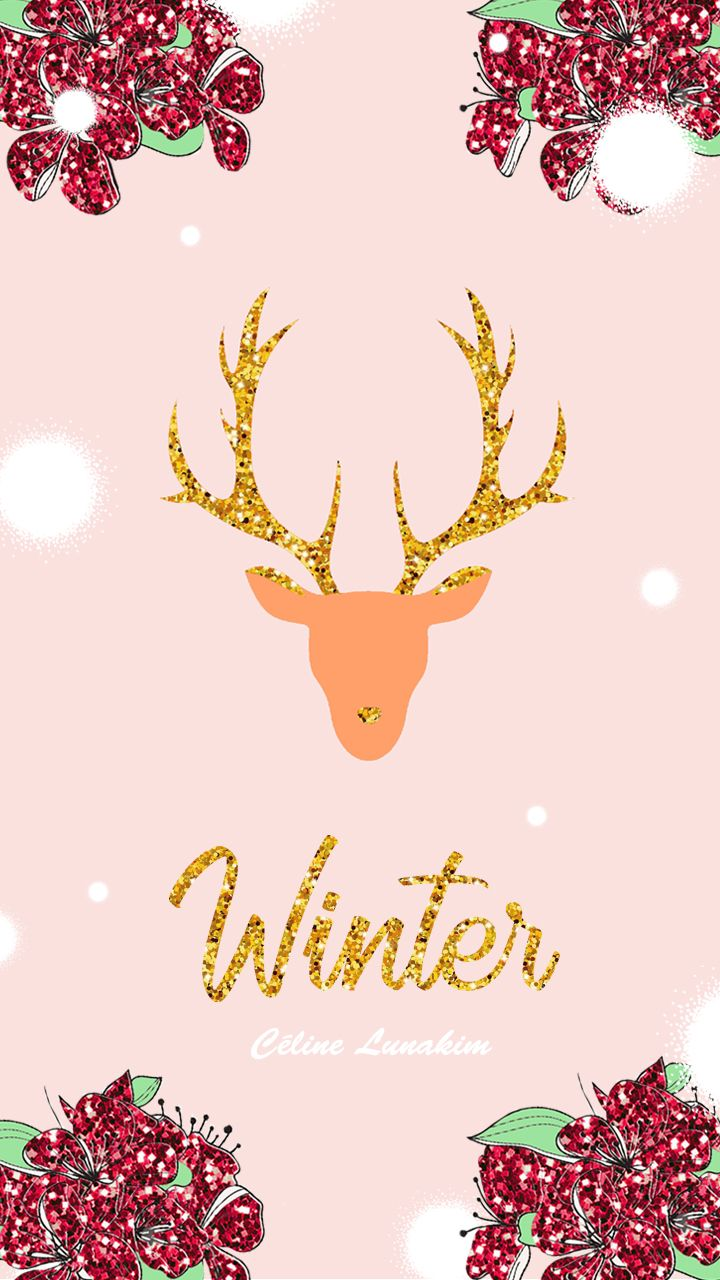 Christmas And Winter Wallpapers Free Download Celine Lunakim Fonds D Ecran Noel A Telecharge Fond Ecran Hiver Aquarelle Noel Fond D Ecran Telephone Noel