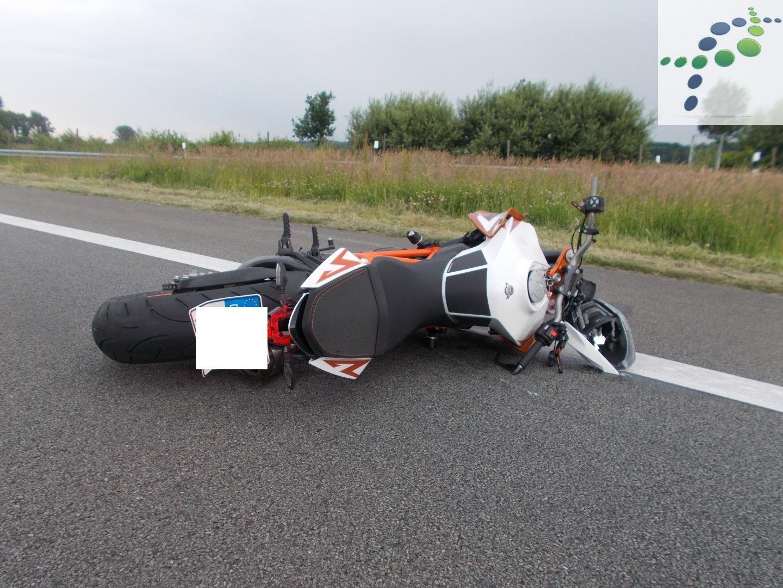 Motorradfahrer Verstirbt Nach Verkehrsunfall Auf Der A26 Die