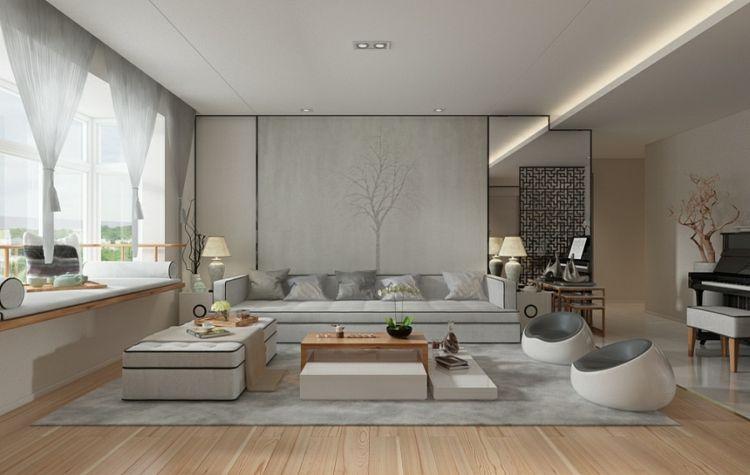 #Dekoration Minimalistisch Wohnen Mit Zen Flair U2013 Moderne Möbel U0026  Chinesische Deko #Minimalistisch