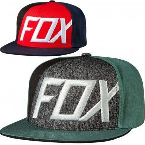 4d64f0fa262 Fox Racing Inverter Mens Caps Motorcross Dirt Bike Off Road Snapback Hats