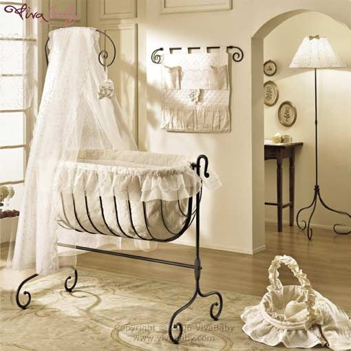 wrought iron baby cribs - Google Search | bebe | Pinterest | Hierro ...