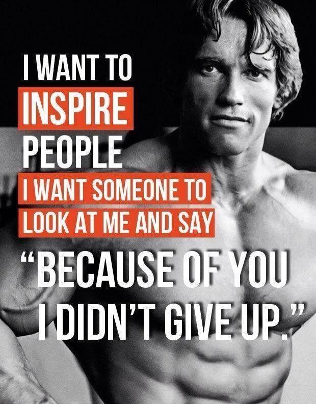 Arnold Schwarzenegger Bodybuilding Quotes Fitness Motivation