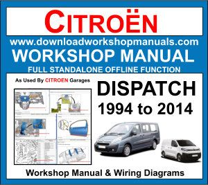 wiring diagram citroen dispatch van citroen dispatch workshop repair and service manual   wiring  citroen dispatch workshop repair and