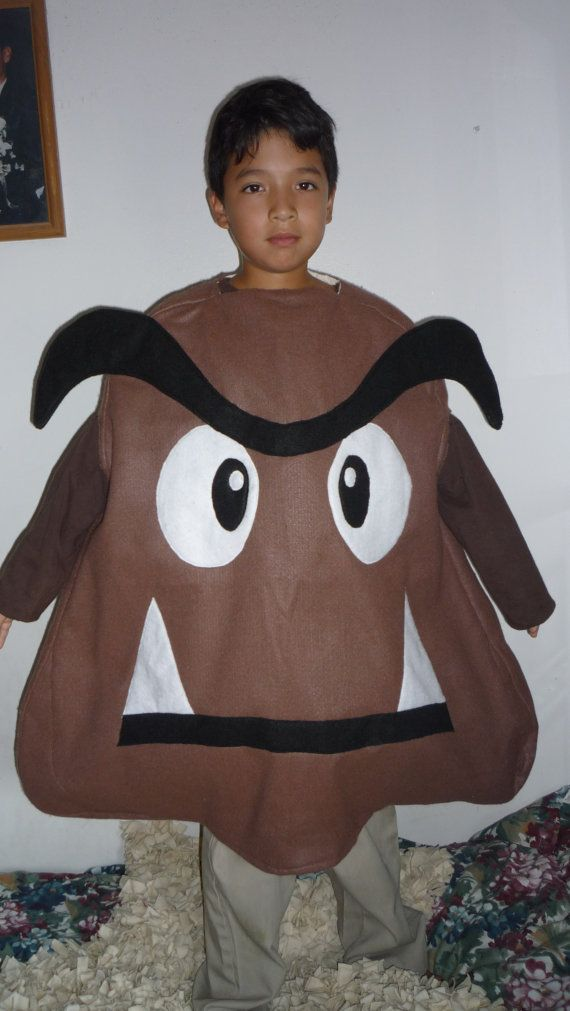 By Mario Bros Game Characters Goomba The Brown Bad Mushroom Made