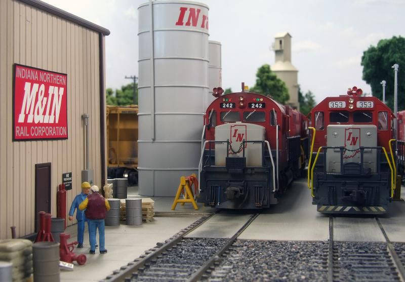 Quintin Schini's M&IN Railroad, a part of INRAIL | Model Railroad Hobbyist magazine | Having fun with model trains | Instant access to model railway resources without barriers