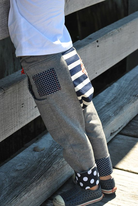 PDF sewing pattern Rascal Pants -cool, slouchy pants for boys and ...