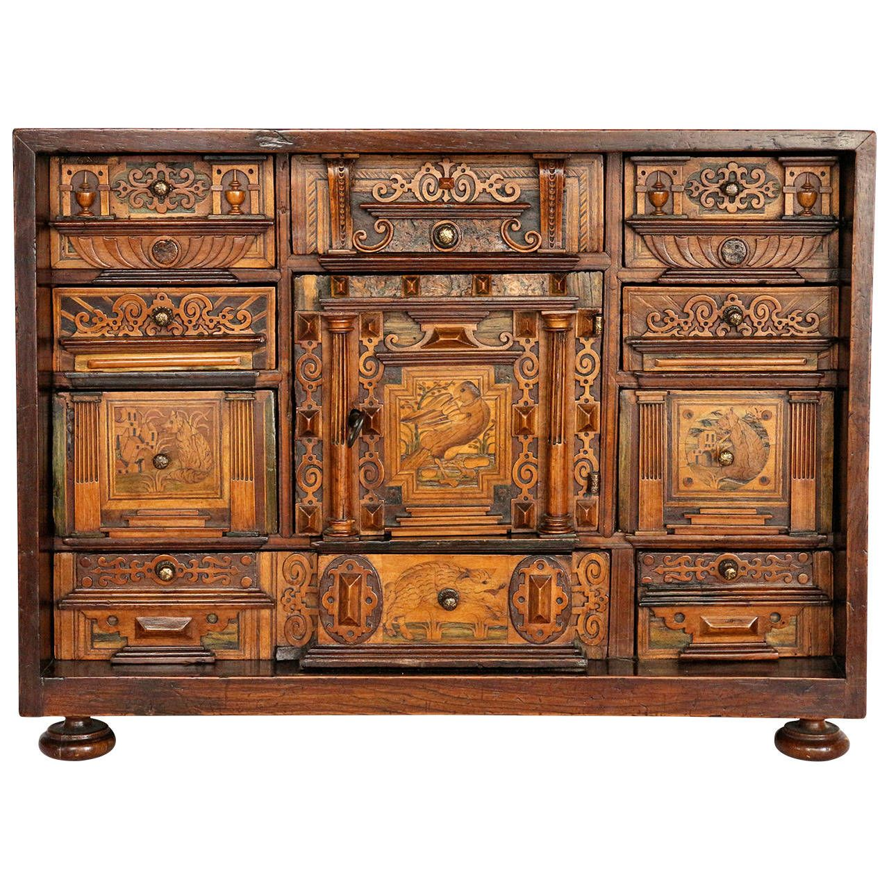 early 17th century baroque cabinet from augsburg germany in 2018 pinterest m bel. Black Bedroom Furniture Sets. Home Design Ideas
