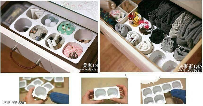 1 d co r cup 39 et trucs et astuces recyclage pinterest diy ideas et organization. Black Bedroom Furniture Sets. Home Design Ideas