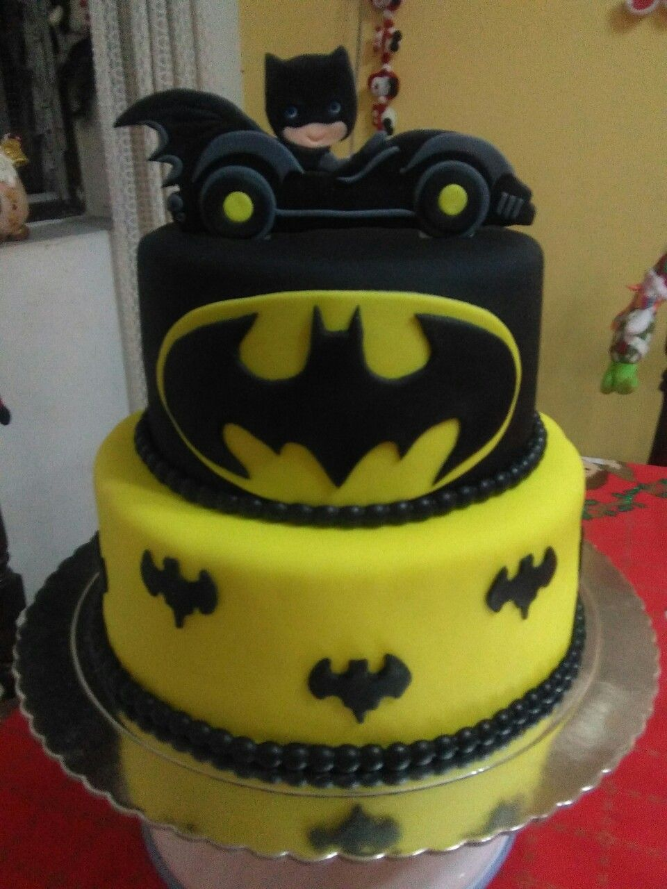 Torta Batman | Tortas en 2019 | Batman, Cake y Desserts