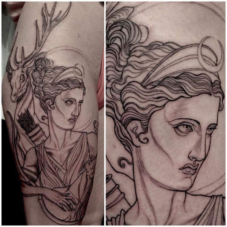 Goddess Spine Tattoo: Image Result For Goddess Diana Tattoo